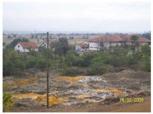 Shtresat e mbetura nga miniera e Llojanit