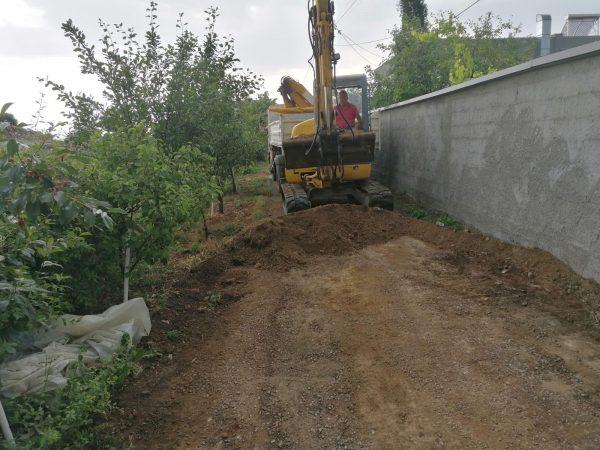 Fillojnë punimet tek rrugica në f.Opajë (Foto)