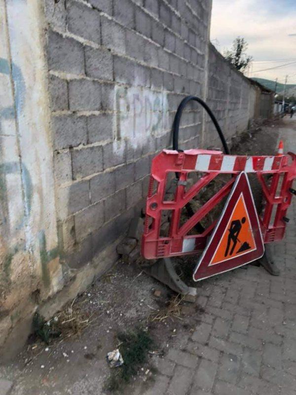 Vazhdojn punimet në rrjetin e ujësjellësit në f.Orizare (Foto)